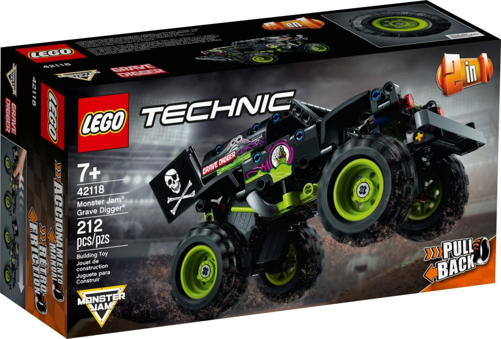 42118 Monster Jam Grave Digger 1
