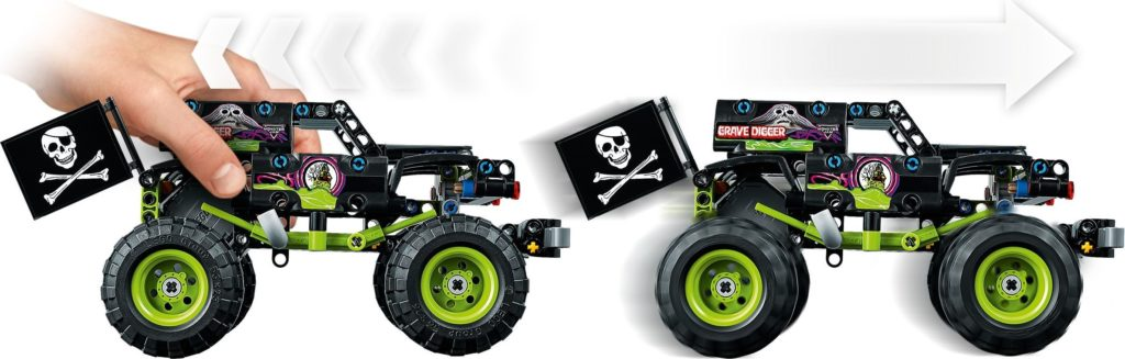 42118 Monster Jam Grave Digger 3