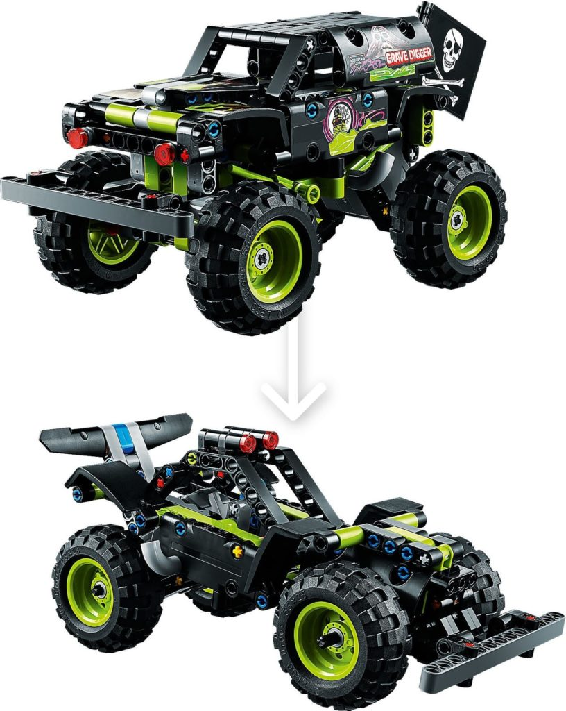42118 Monster Jam Grave Digger 4