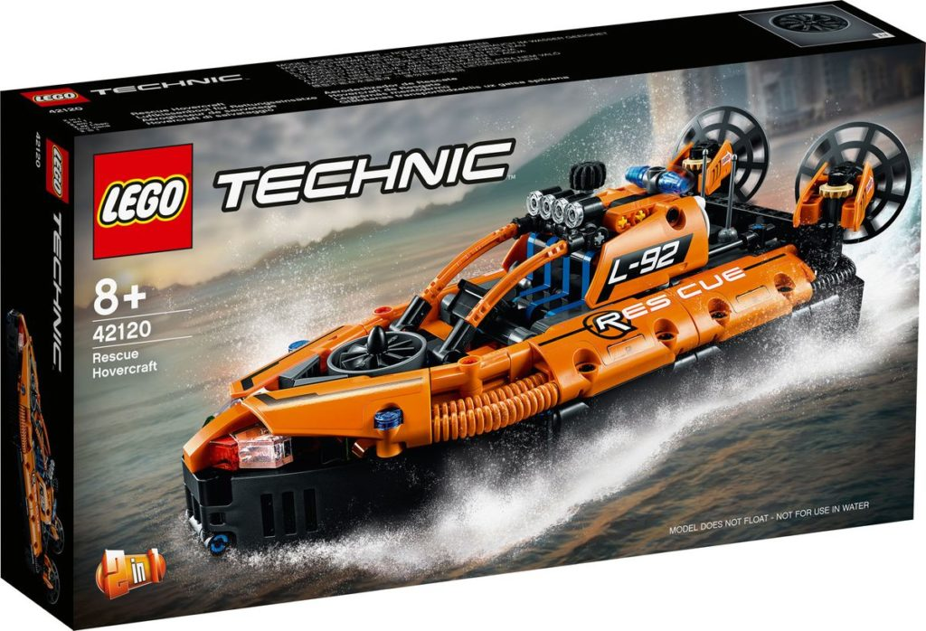 42120 LEGO Rescue Hovercraft Box
