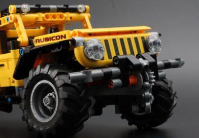 LEGO Technic 42122 Jeep Wrangler review