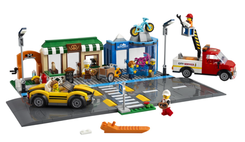 60306 Shopping Street Unboxed