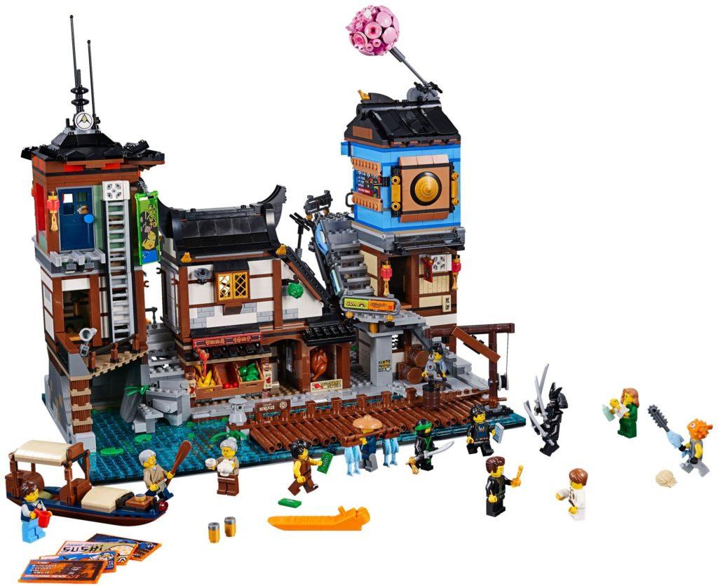 70657 ninjago City Docks full