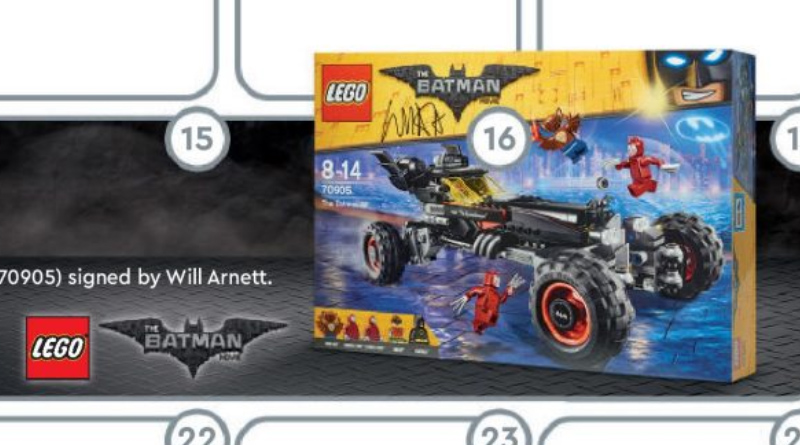 70905 LEGO Signed Featured