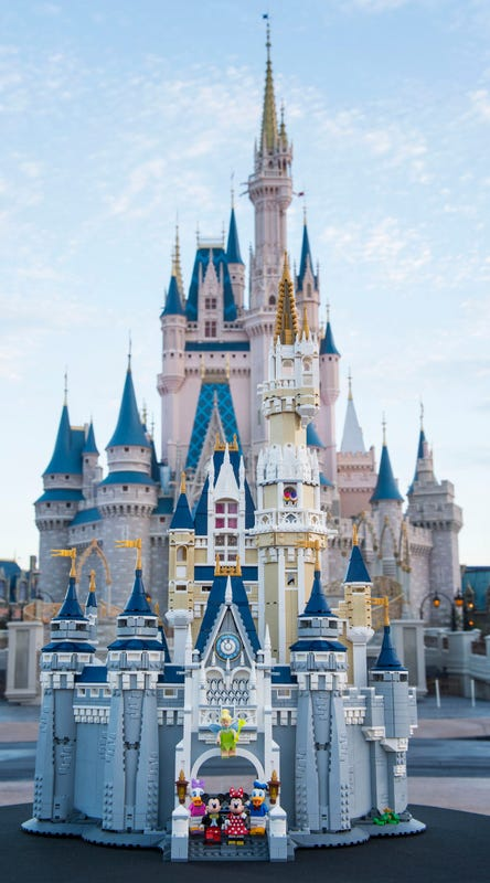 71040 Disney Castle List