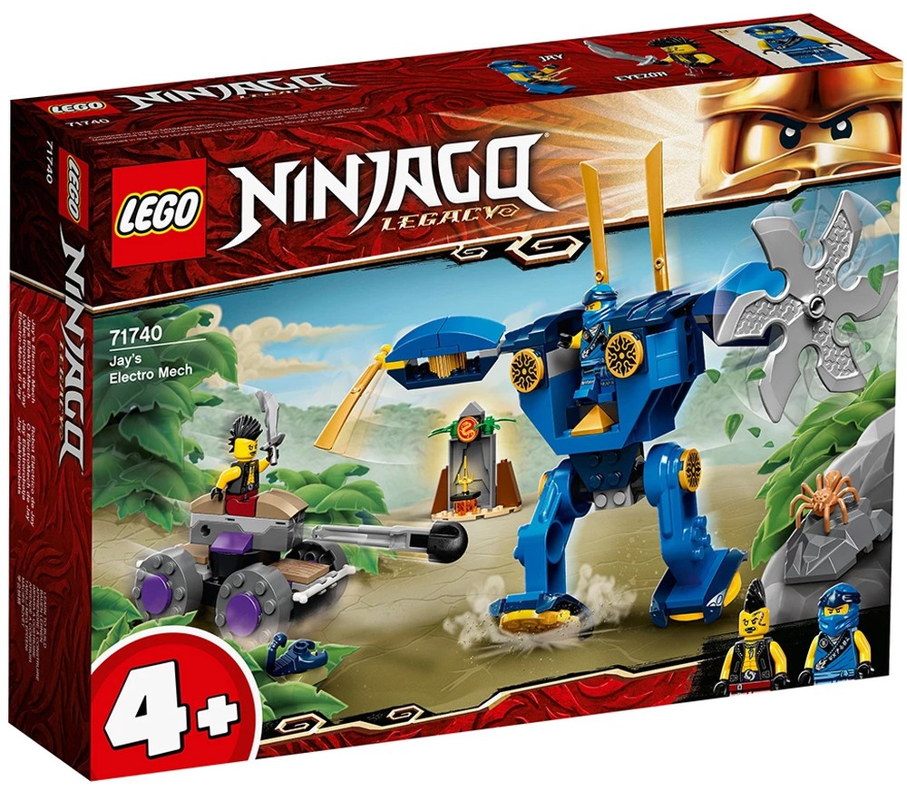 First images of new LEGO NINJAGO Legacy set 71740 Jay's ...