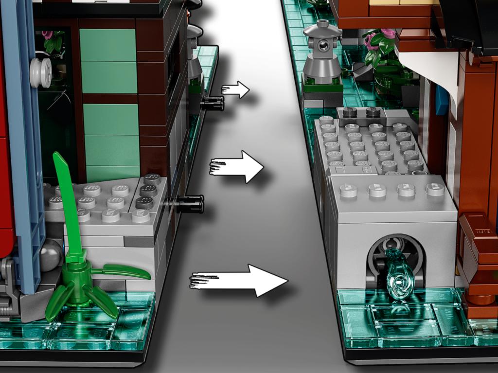 71741 LEGO NINJAGO City Gardens Attachment