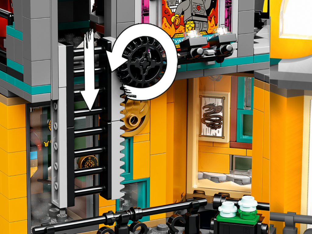 71741 LEGO NINJAGO City Gardens Ladder