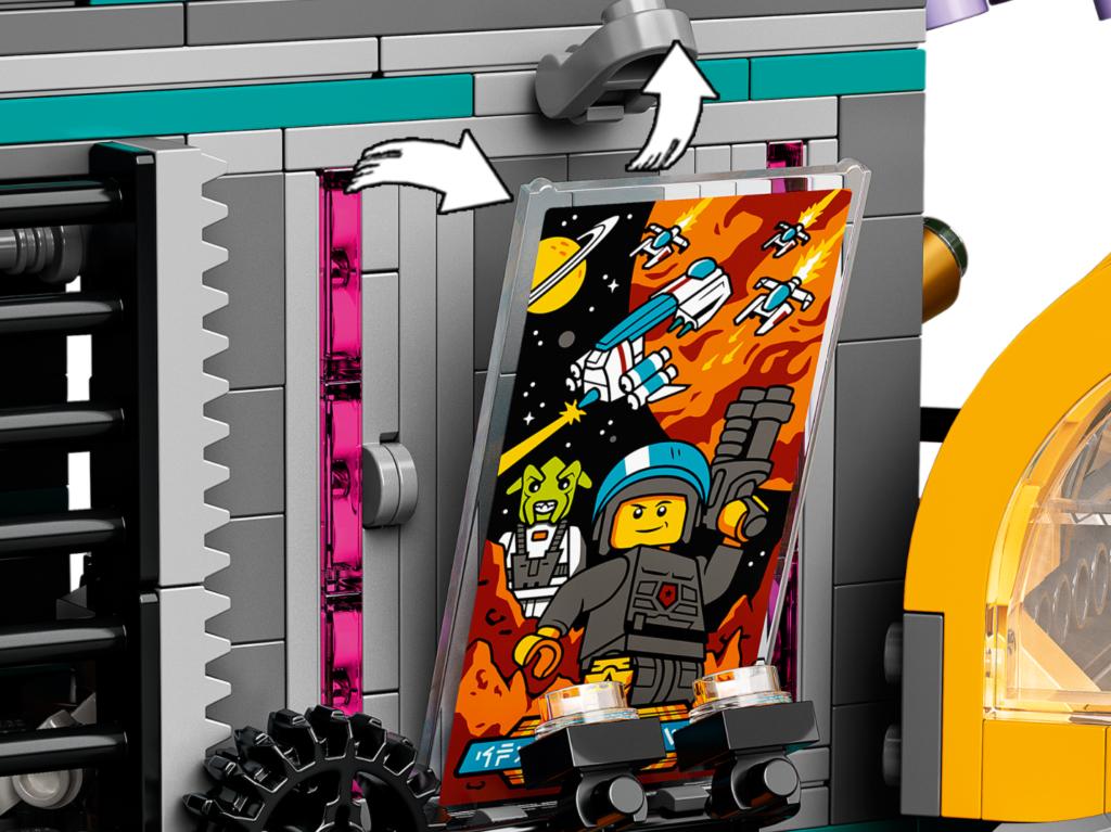 71741 LEGO NINJAGO City Gardens Poster Space Police
