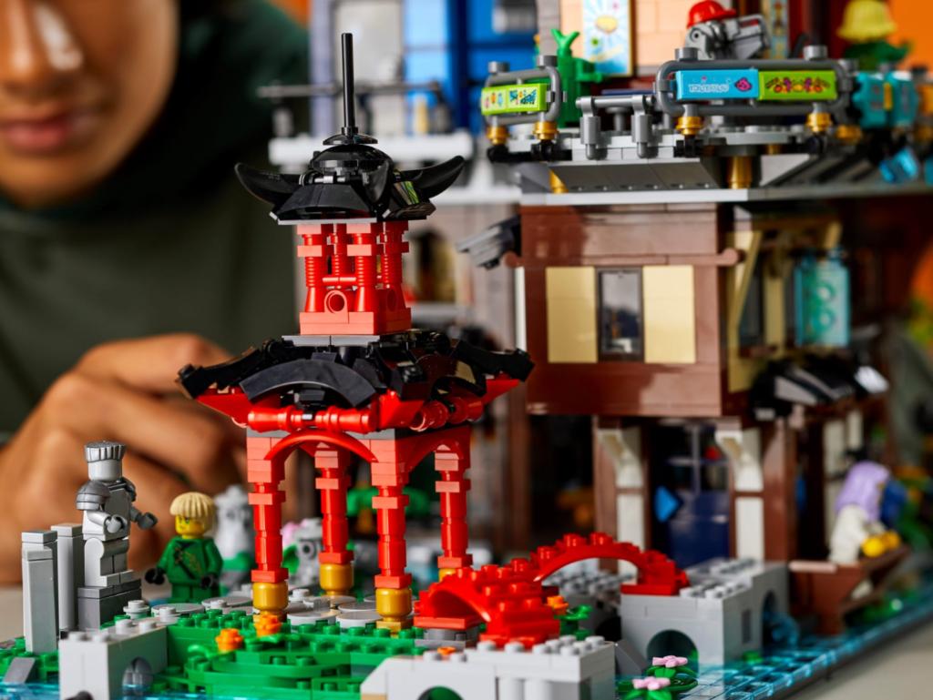 71741 LEGO NINJAGO City Gardens Shrine
