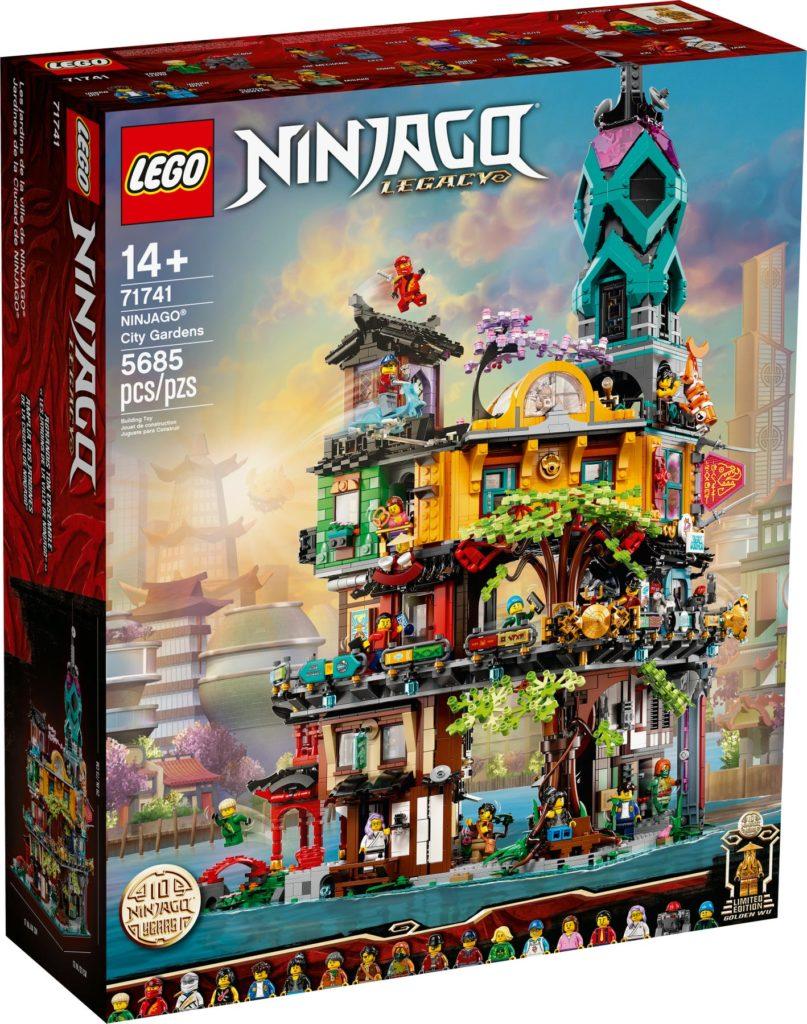 71741 NINJAGO CITY GARDENS BOX Lego
