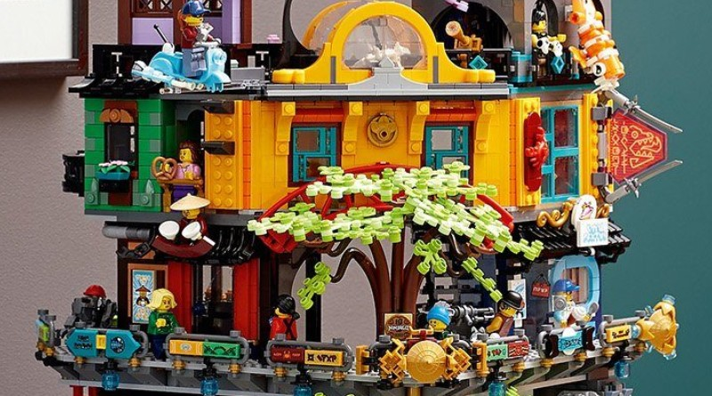 71741 NINJAGO City Gardens Closer Look Featured