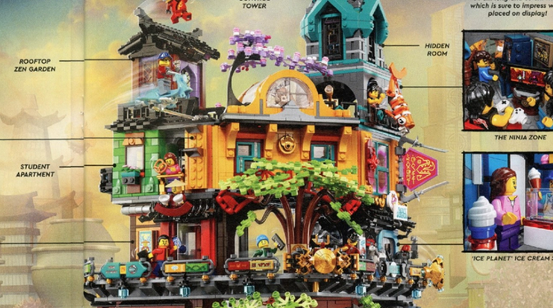71741 NINJAGO City Gardens Featured
