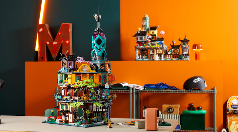 71741 NINJAGO City Gardens Live Closer Look Featured