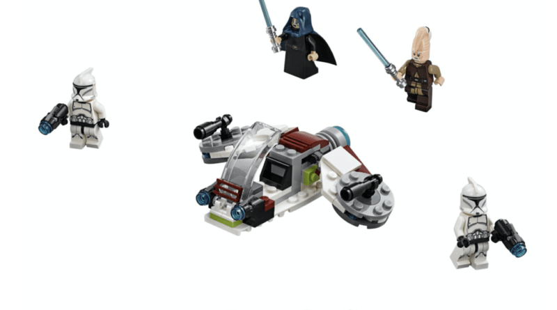 75206 Jedi And Clone Troopers Battle Pack 800x445