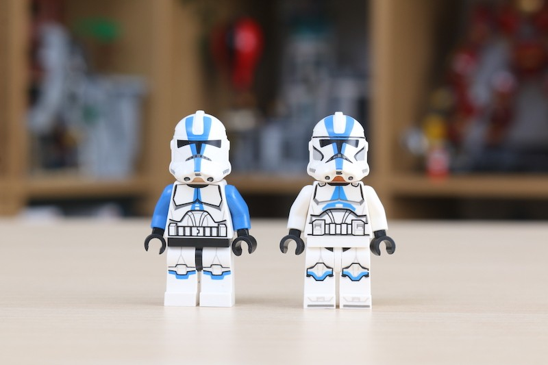 75280 501st Legion Clone Troopers Review 13