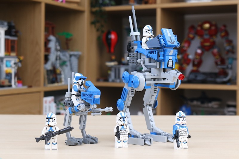 75280 501st Legion Clone Troopers Review 15
