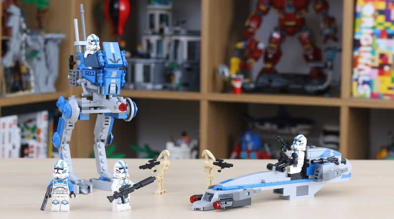 LEGO Star Wars 75280 501st Legion Clone Troopers review