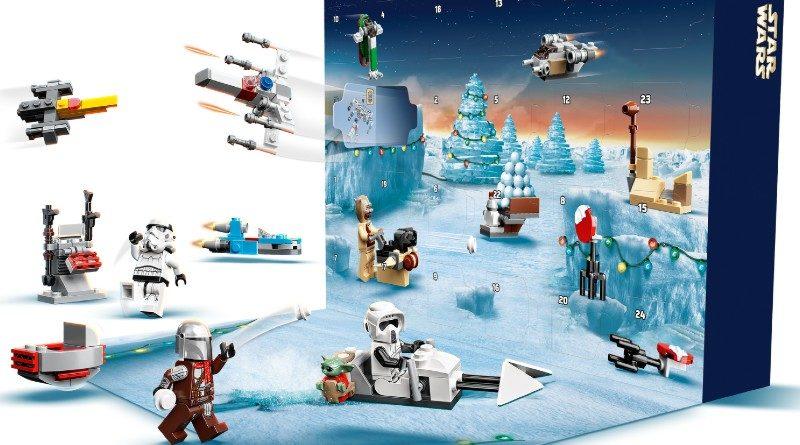 75307 LEGO Star Wars Advent Calendar 2021 action featured