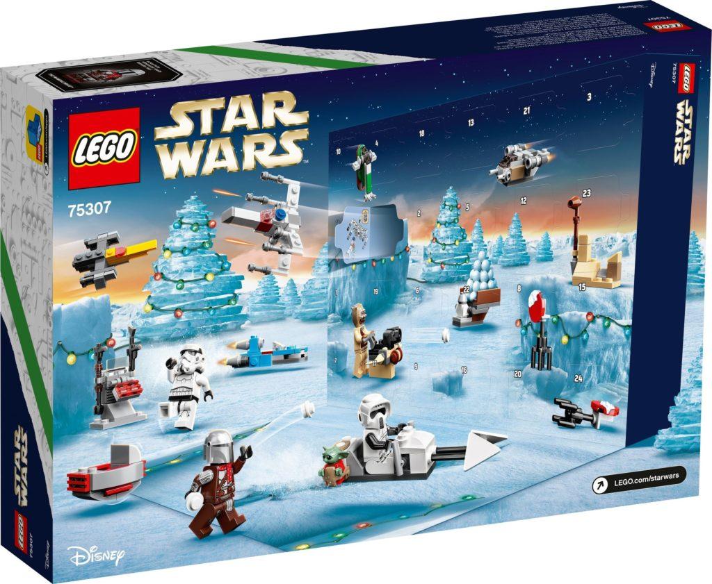 75307 Star Wars Advent Calendar box back