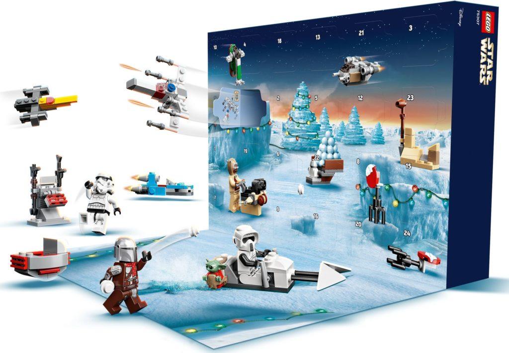 75307 Star Wars Advent Calendar box open