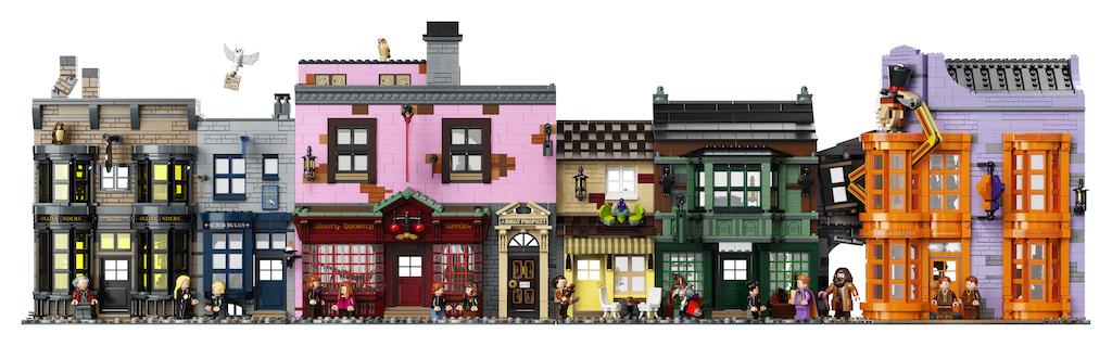 75978 Diagon Alley LEGO Harry Potter Lifestyle Resized 23