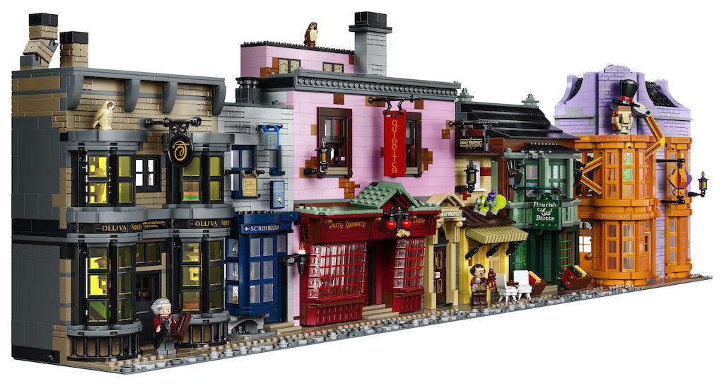 75978 Diagon Alley LEGO Harry Potter Lifestyle Resized 24
