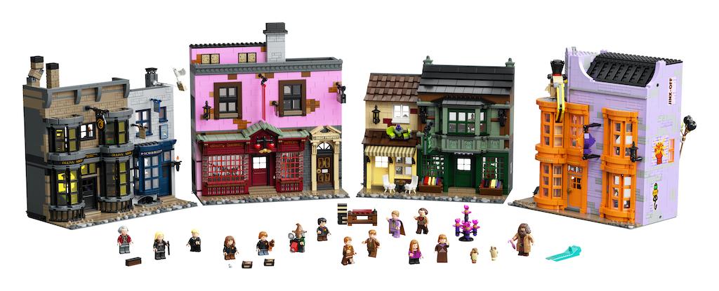 75978 Diagon Alley LEGO Harry Potter Lifestyle Resized 25