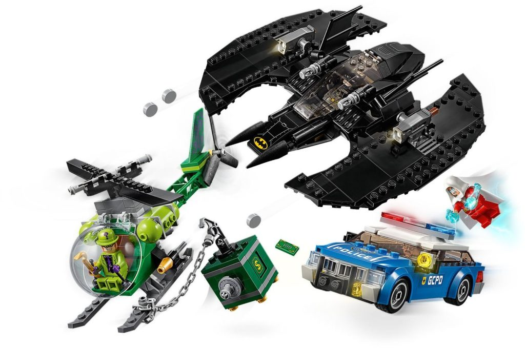 76120 Batwing And The Riddler Heist