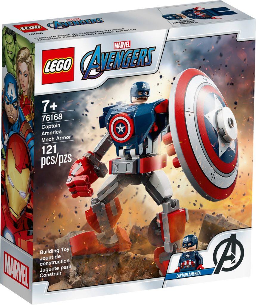 76168 Captain America Mech Armor 1