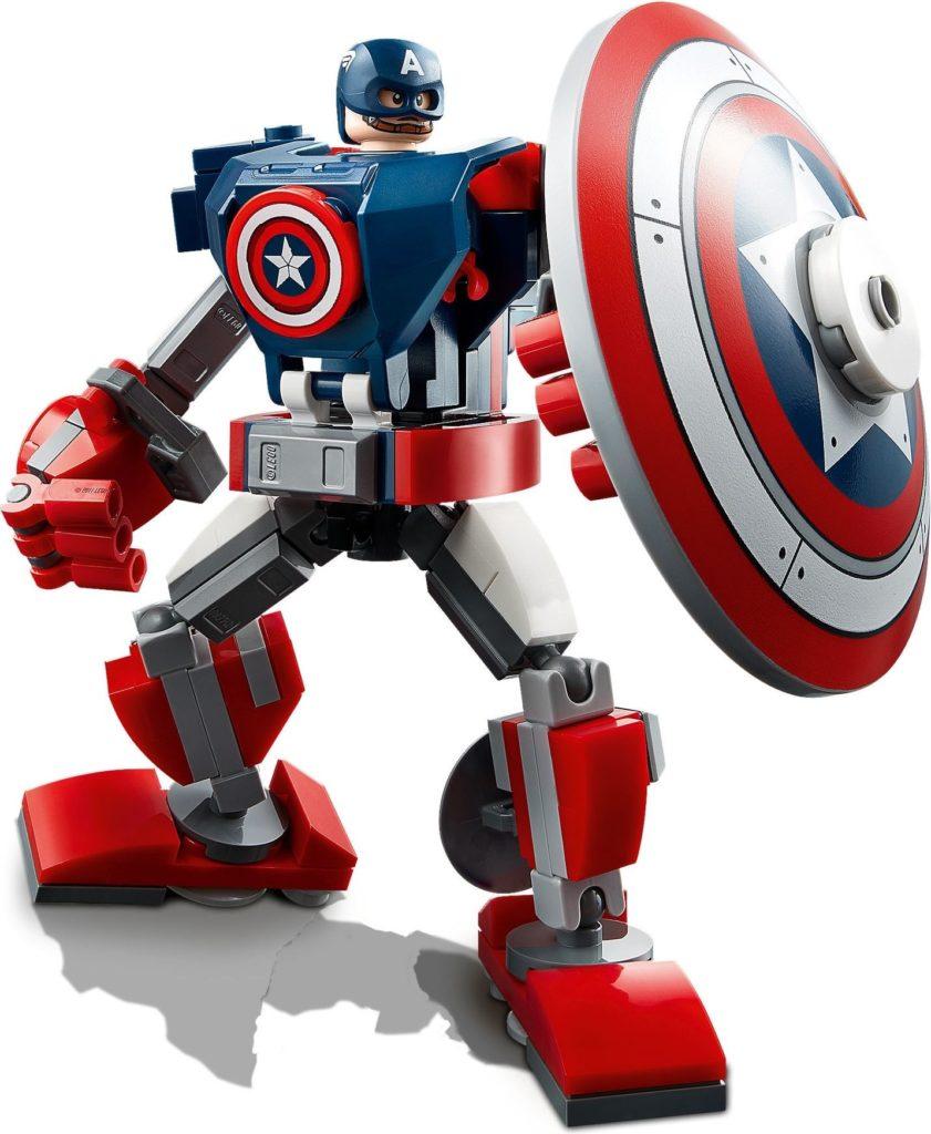 76168 Captain America Mech Armor 3