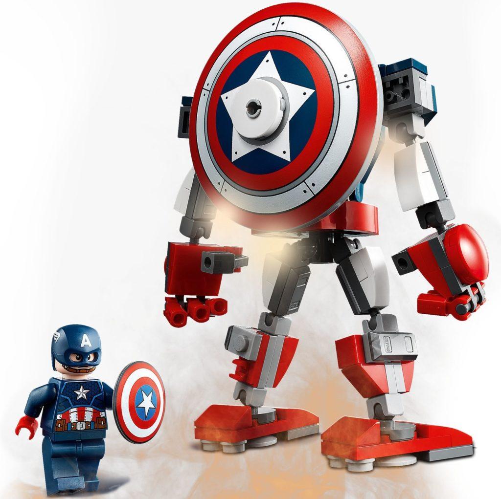 76168 Captain America Mech Armor 4