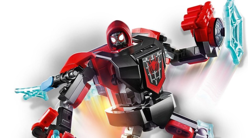 76171 Miles Morales Mech Armor Featured