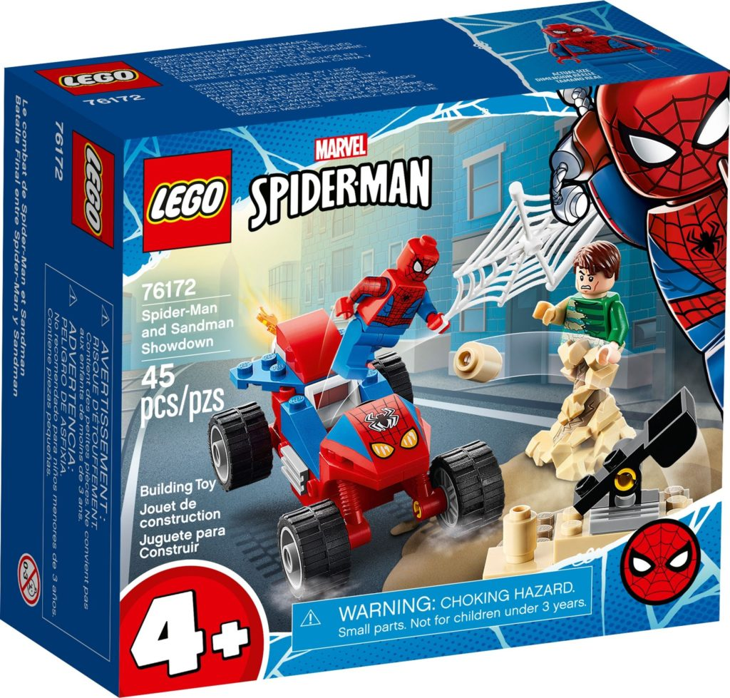76172 Spider Man And Sandman Showdown 1