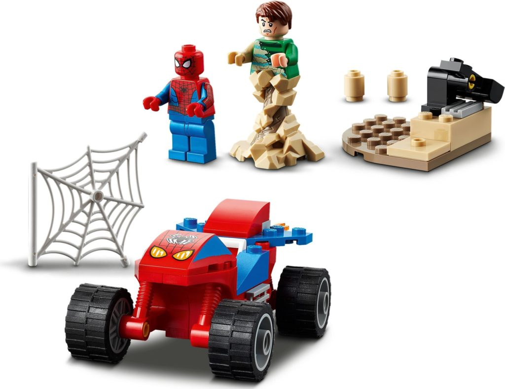 76172 Spider Man And Sandman Showdown 4