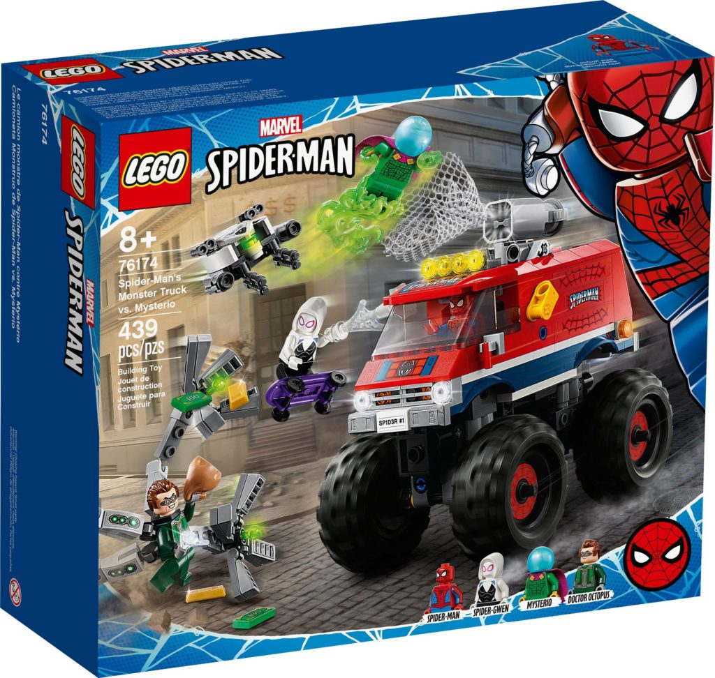 76174 Spider Mans Monster Truck Vs. Mysterio 1