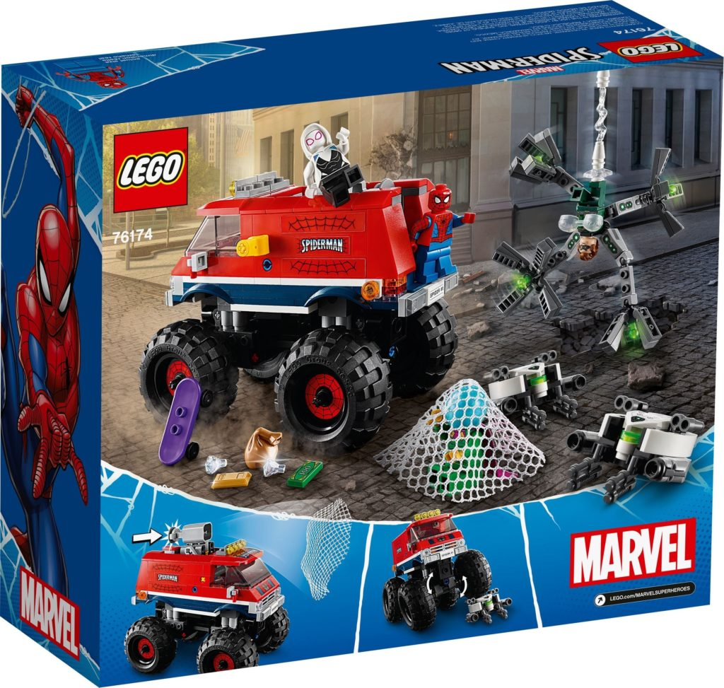 76174 Spider Mans Monster Truck Vs. Mysterio 2