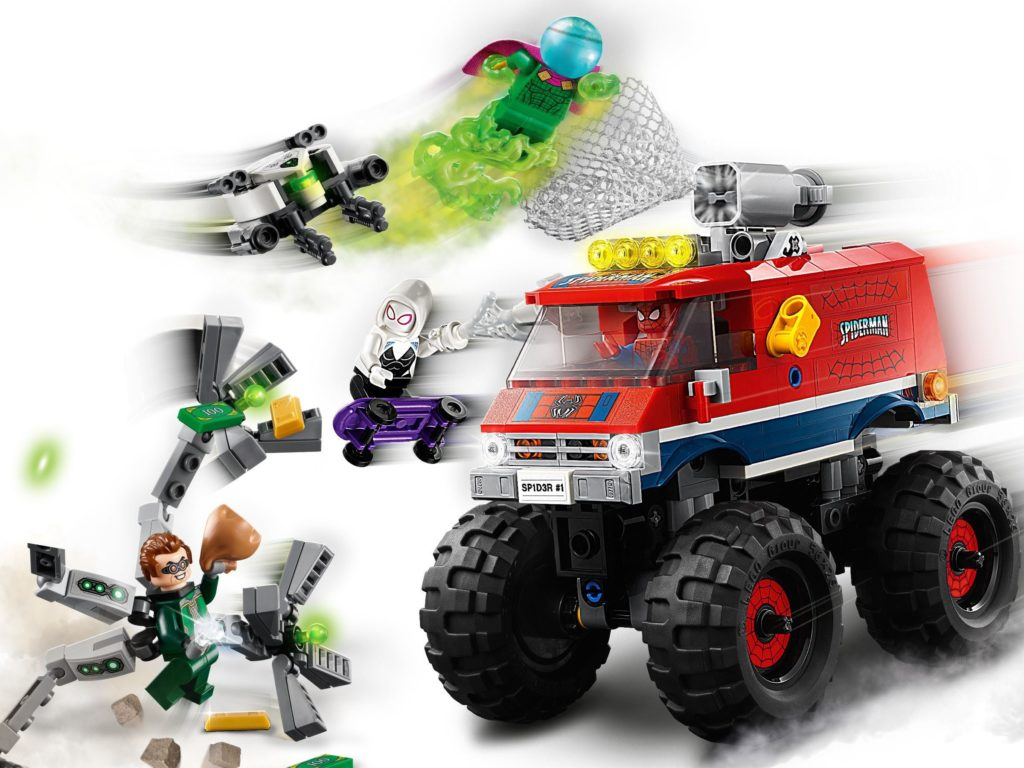 76174 Spider Mans Monster Truck Vs. Mysterio 3