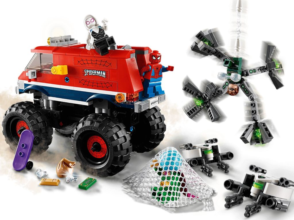 76174 Spider Mans Monster Truck Vs. Mysterio 4