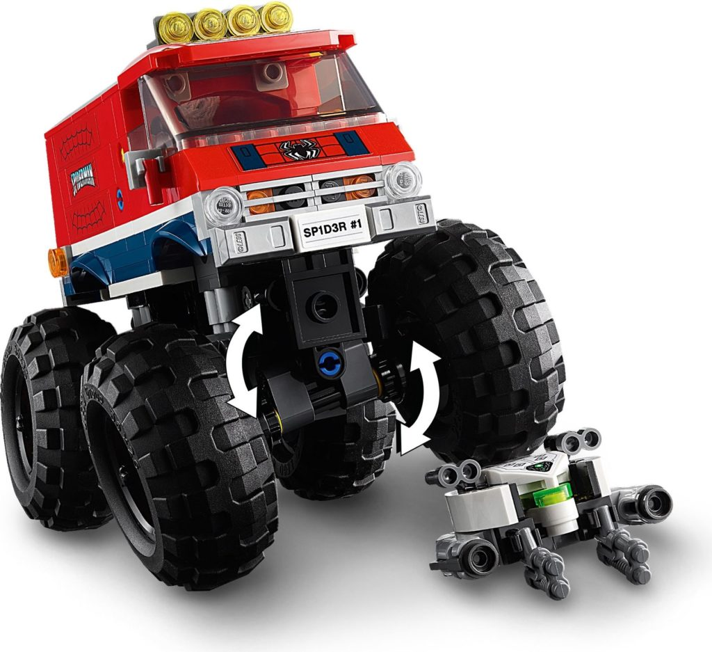 76174 Spider Mans Monster Truck Vs. Mysterio 5