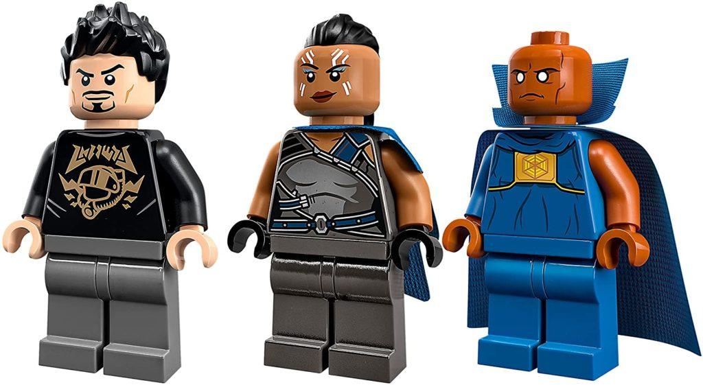 76194 Tony Starks Sakaarian Iron Man Minifigures