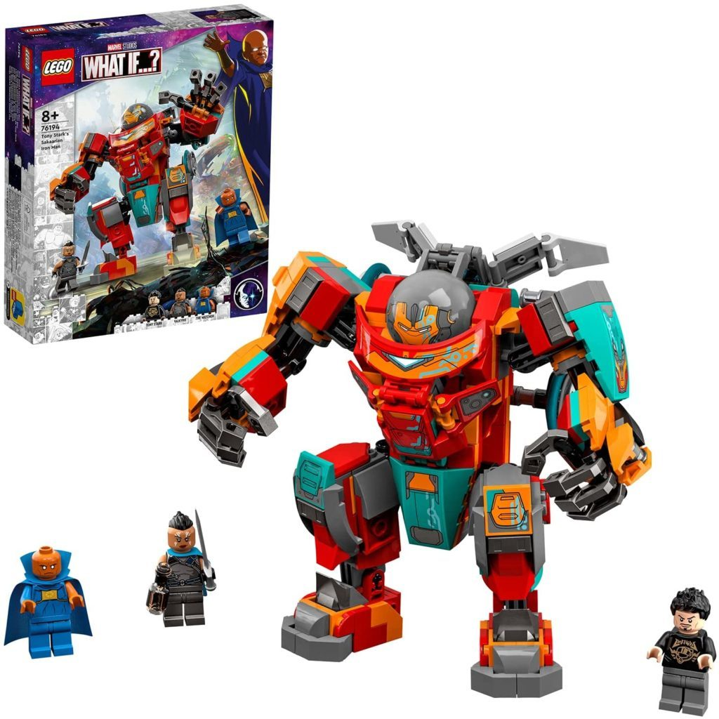 76194 Tony Starks Sakaarian Iron Man.