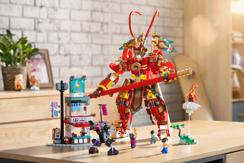 80012 Monkey King Warrior Mech Feature