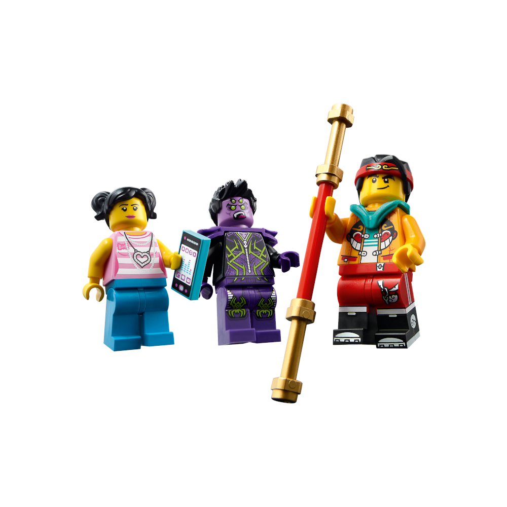 80018 Monkie Kid Minifigures