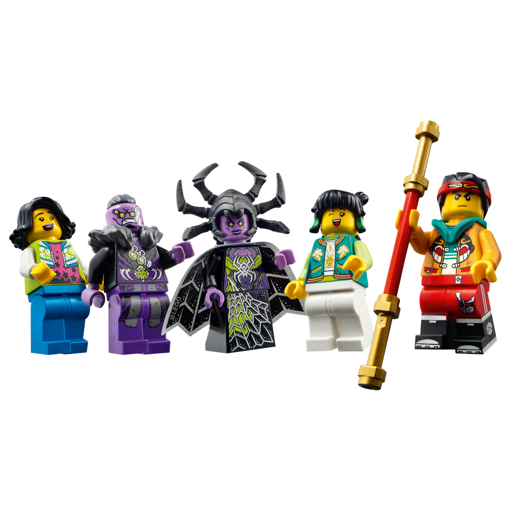 80021 Monkie Kid Minifigures
