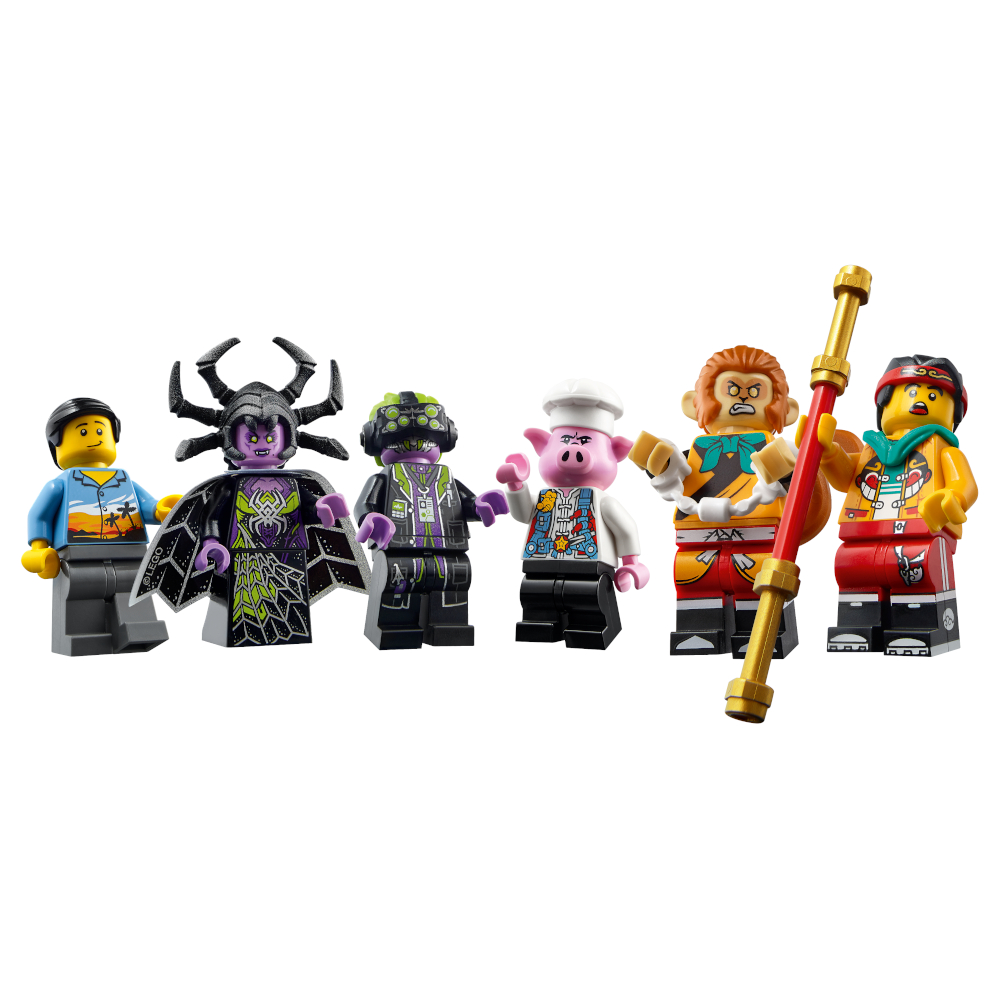 80022 Monkie Kid Minifigures
