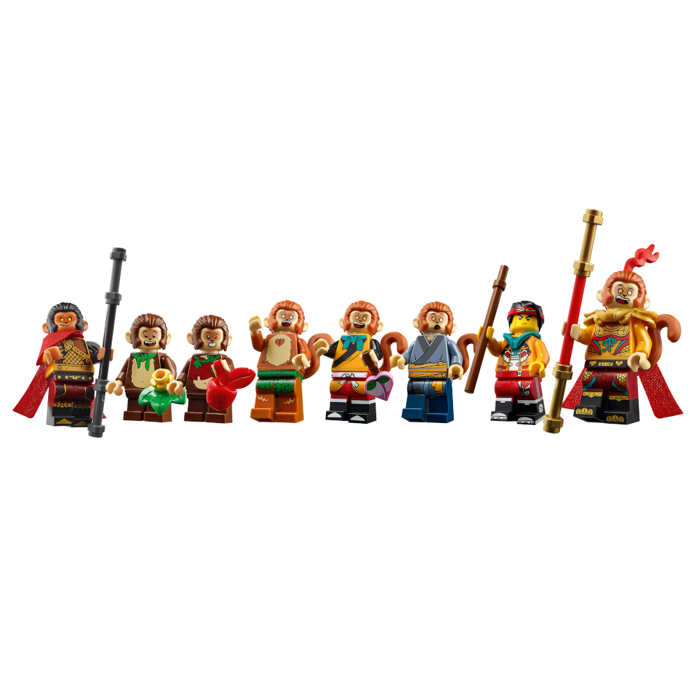 80024 Monkie Kid Minifigures