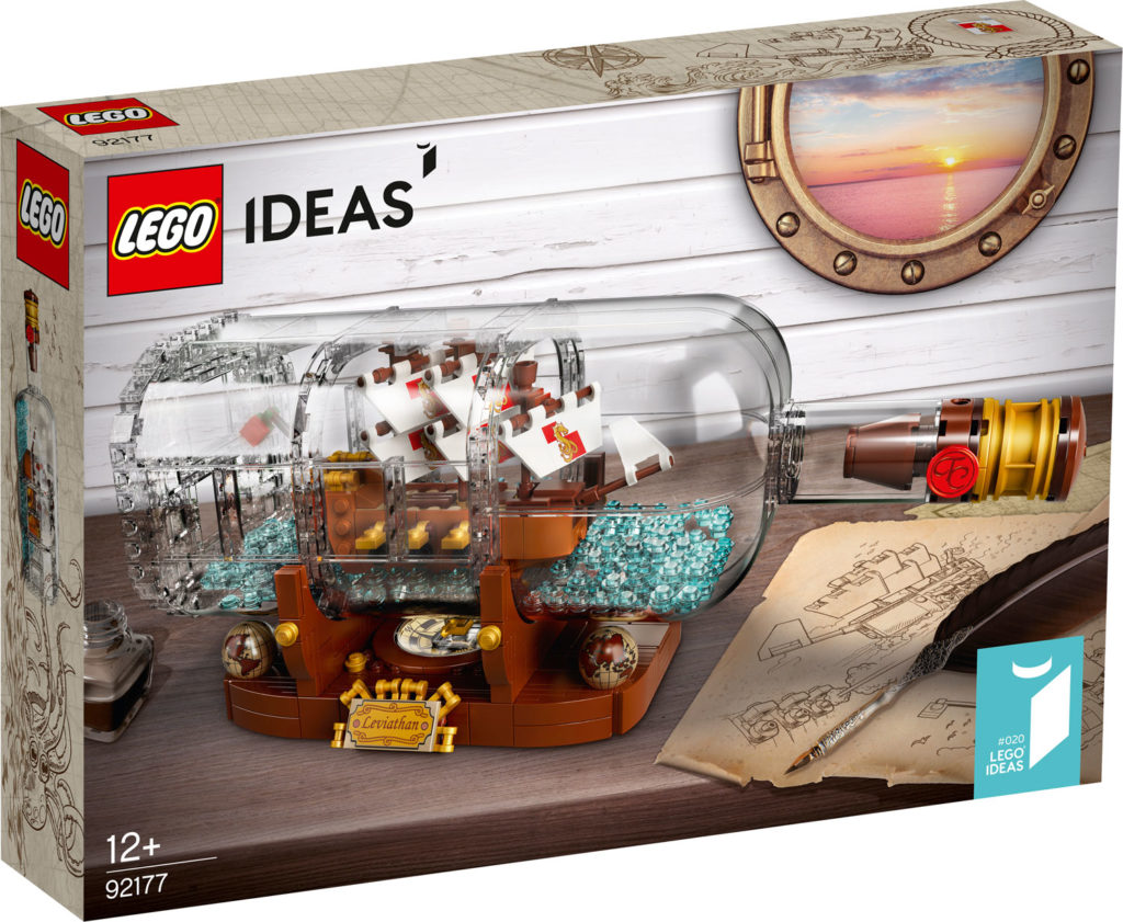 92177 Ship In A Bottle Box 1