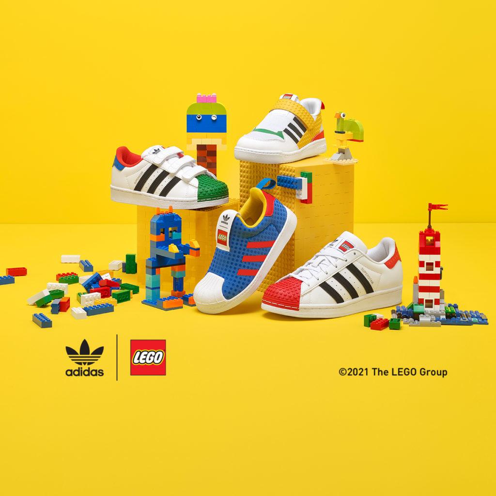 Adidas Originals LEGO Superstar Sneaker kids
