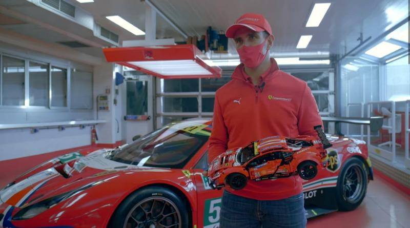 Alessandro Pier Guidi Ferrari LEGO Technic Featured